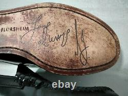 Michael Jackson's worn&signed stage loafers with Epperson authentication