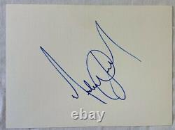 Michael Jackson signed autograph 11x15 cut LARGE signature RARE with BECKETT LOA