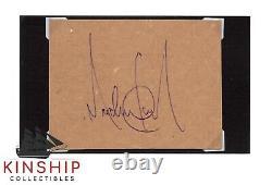 Michael Jackson signed cut JSA LOA Rare Auto d. 2009 King of Pop Z619
