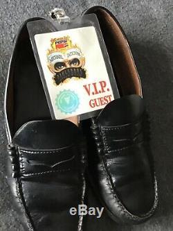 Michael Jackson stage worn &signed Florsheim black shoes