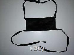 Michael Jackson worn black surgical mask / no fedora / signed / glove