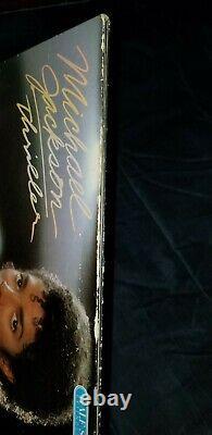 Michael jackson signed Thriller Vinyl