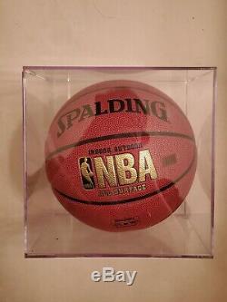 NBA Phil Jackson Autographed Basketball Lakers COA