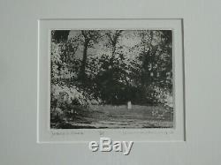 NORMAN ACKROYD RA 1938 Jackson's Glade Hampshire Limited Ed ETCHING ed 11/25