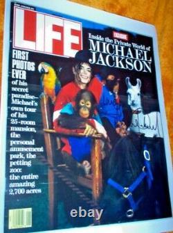 Neverland / Sycamore acquisition memorabilia LOT! RARE! , Michael Jackson signed