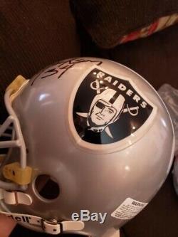 Oakland Raiders Full size helmet Bo Jackson Autographed