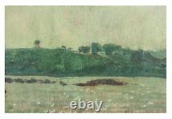 Oil on Wood Panel Landscape Painting Group of Seven signed A. Y. Jackson 1924