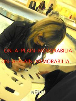 Orithani Panagaris Signed Guitar Michael Jackson Psa Dna Cert#j59423