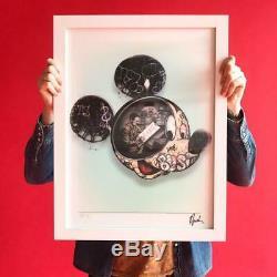 Paul Jackson Walts Revenge 3D holographic print Walt Disney Mickey Mouse 18x24
