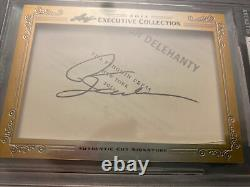 Phil Jackson 2013 Leaf Masterpiece Cut Signature Auto Signed Auto 1/1