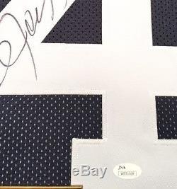 Premium Framed Bo Jackson Autographed Auburn Tigers Jersey JSA COA raiders