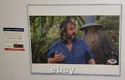 Producer Director Peter Jackson Signed Photo PSA DNA The Lord of the Rings
