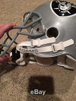 RARE Bo Jackson Raiders Signed Game Issued Proline Helmet Authentic PSA Bo Holo
