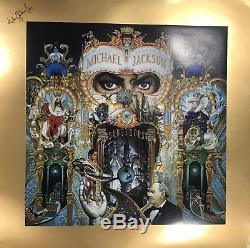Rare artwork Michael Jackson Autographed Dangerous Lithograph