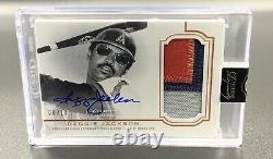 Reggie Jackson 8/10 Auto 2020 Topps Dynasty Patch DAP-RJ1 Autograph Angels MLB