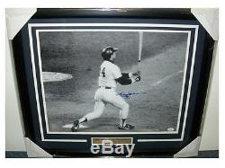 Reggie Jackson AUTOGRAPHED FRAMED 16X20 PHOTO JSA COA New York Yankees