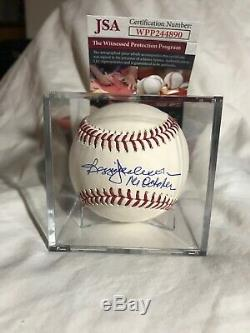 Reggie Jackson Autographed MLB Baseball Withinscrp Mr. October JSA Yankees, As