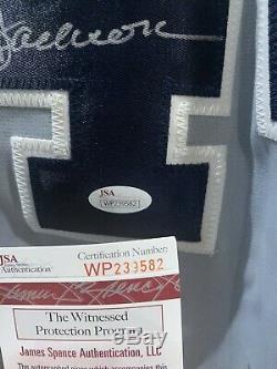 Reggie Jackson New York Yankees Autographed Jersey Baseball JSA