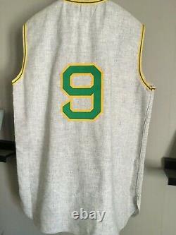 Reggie Jackson Psa Dna Signed 1969 Jersey Oakland A's Sleeveless Mr. October