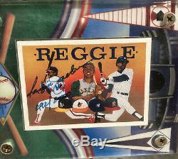 Reggie Jackson Signed 1990 Upper Deck Autographed AUTO 492/2500 Yankees HOF