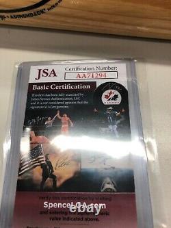 Reggie Jackson Signed Bat JSA 800/1000
