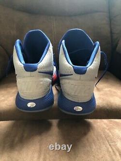 Reggie Jackson autographed Nike game worn NBA shoes