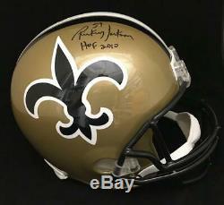 Rickey Jackson New Orleans Saints Signed Autographed Full Size Fs Helmet Jsa Coa
