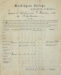 Robert E. Lee Document Signed For Stonewall Jackson's Nephew PSA/DNA LOA