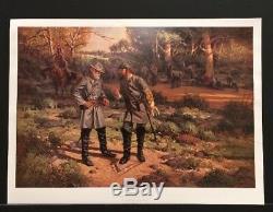 Robert Summers Print We've Got Him Robert E Lee Stonewall Jackson Civil War