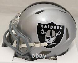 Sale! Bo Jackson Autographed Oakland Raiders Speed Mini Helmet Beckett 113789