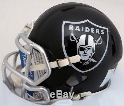 Sale! Bo Jackson Autographed Raiders Black Blaze Speed Mini Helmet Beckett