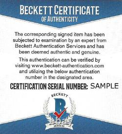 Sale! Bo Jackson Autographed Signed 8x10 Photo Royals Spotlight Beckett