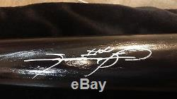 Sammy Sosa Hand Signed Autographed Cubs Baseball Bat Reggie Jackson. Com Coa Wow