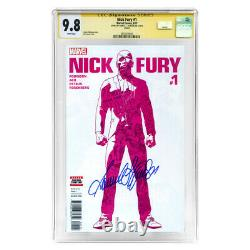 Samuel L. Jackson Autographed 2017 Nick Fury #1 CGC SS 9.8