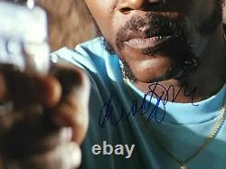 Samuel L Jackson Pulp Fiction Autograph Signed 11 x14 JSA COA