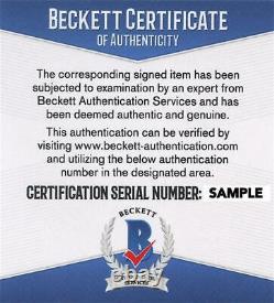 Samuel L Jackson Signed 11x14 Photo The Avengers Marvel Autograph Beckett Coa B
