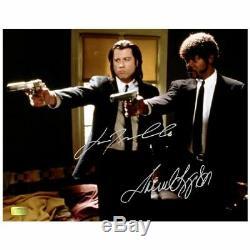 Samuel L. Jackson and John Travolta Autographed Pulp Fiction Hitmen 11x14 Photo