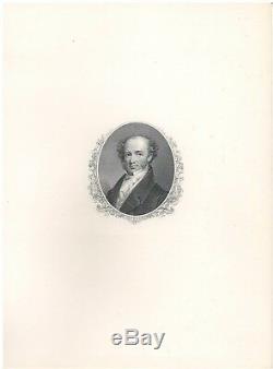 Ship Passport Document Signed by Andrew Jackson & Martin Van Buren 1830 with COA