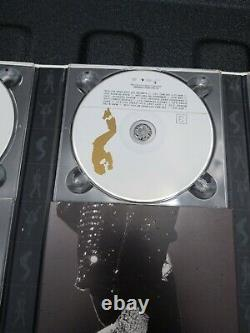 Signed Michael Jackson The Ultimate Collection w Booklet 4 CD + 1 DVD Box Set