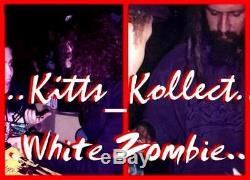 Signed White Zombie Autographed Jackson Guitar Rob Sean Jay John Jsa Loa #x59708