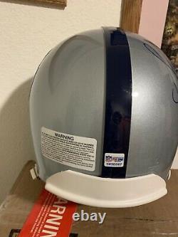 Stephen Jackson Signed Pro Bowl St Louis Rams Full Size Authentic Helmet Psa/dna
