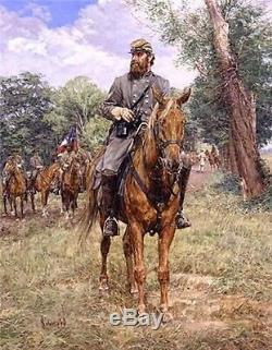 Stonewall Bradley Schmehl Civil War Print Stonewall Jackson