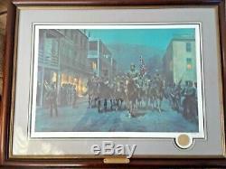 Stonewall Jackson At Harper's Ferry by Mort Kunstler Signed Civil War Print Lg