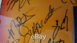 Taylor Swift McGraw Nelson Strait Brooks Jackson Reba Signed Autographed Guitar