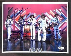 The Jackson 5 Five Group No Michael Jackson Autographed Signed 8x10 Photo Jsa