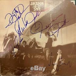 The Jackson 5 Signed Album With Michael Jackson Vintage Signatures JSA LOA