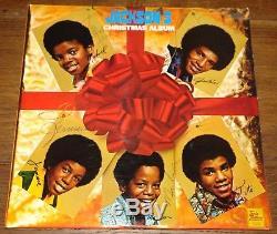 The Michael Jackson 5 Five Hand Signed Christmas Album Motown Lp Uaac Dealer