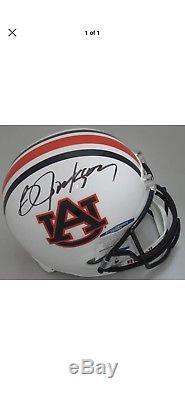 Tigers BO JACKSON Signed Full Size Replica Auburn Helmet AUTO- BCA