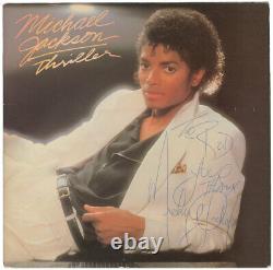 VERY RARE Signed 1982 Era MICHAEL JACKSON THRILLER PROMO Album AUTOGRAPHED