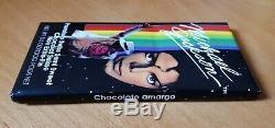 VINTAGE MICHAEL JACKSON CHOCOLATE BARS 1989 PACK LOT promo fedora signed smile